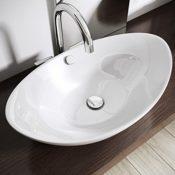 Design-Aufsatzwaschbecken