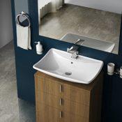 Aquamarin Modernes Waschbecken