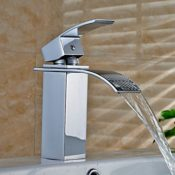 Auralum® Quadrat Wasserfall